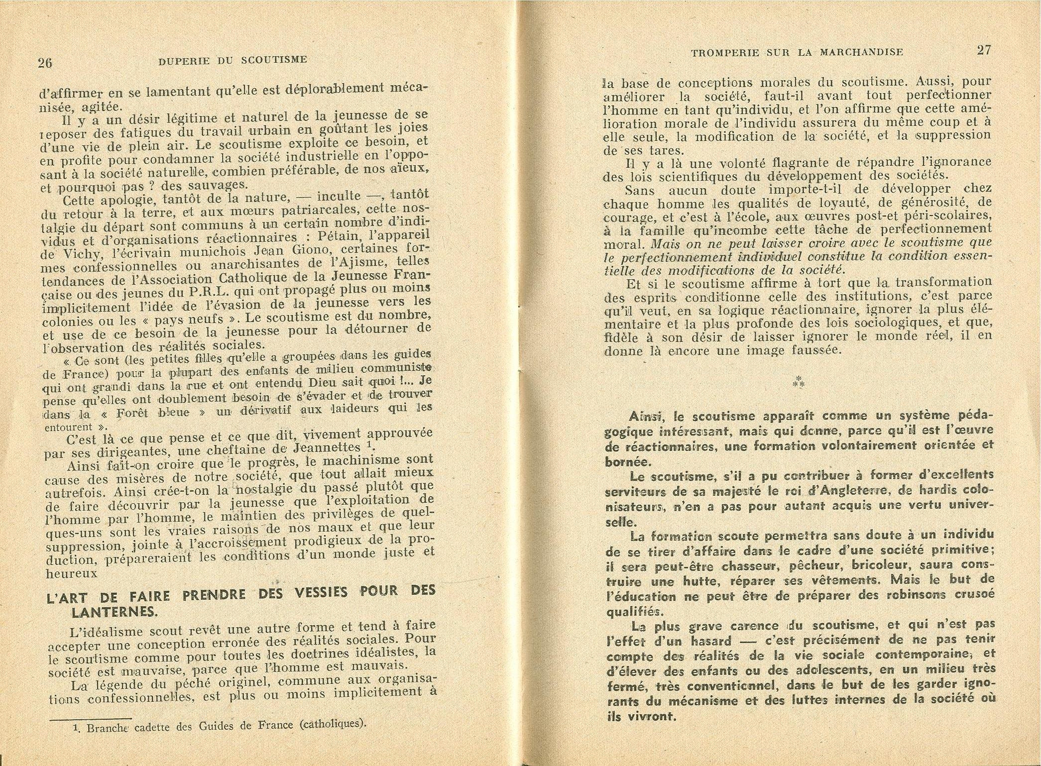 La duperie du scoutisme - pag. 15