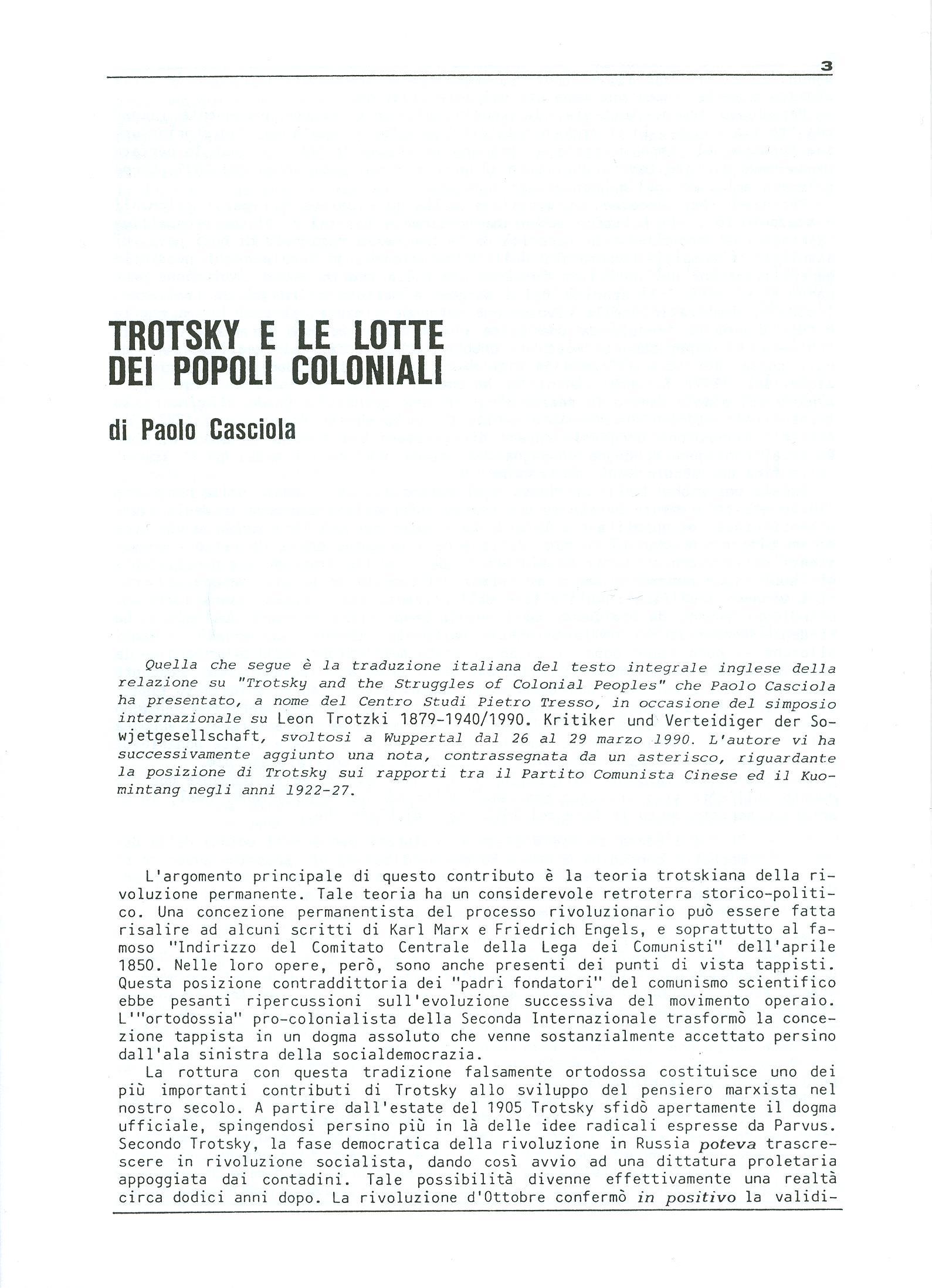 Studi e Ricerche n. 18 (aprile 1990) - pag. 3