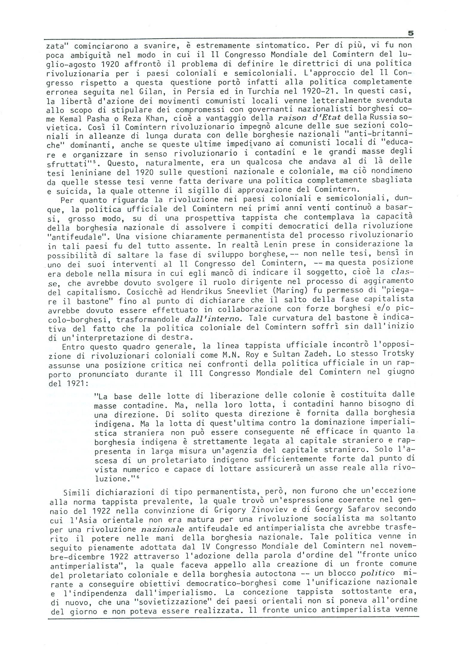 Studi e Ricerche n. 18 (aprile 1990) - pag. 5