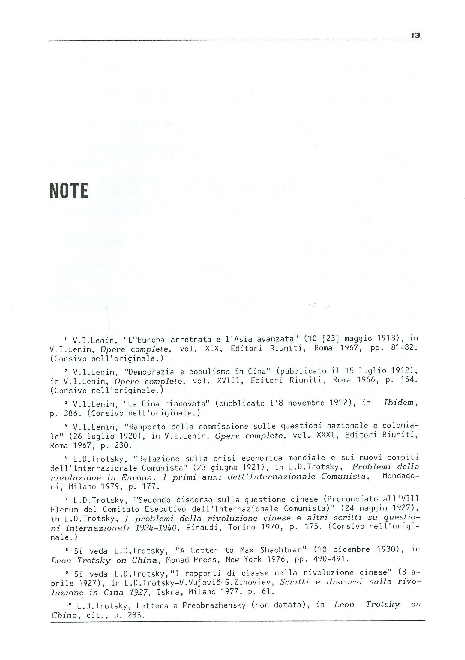 Studi e Ricerche n. 18 (aprile 1990) - pag. 13