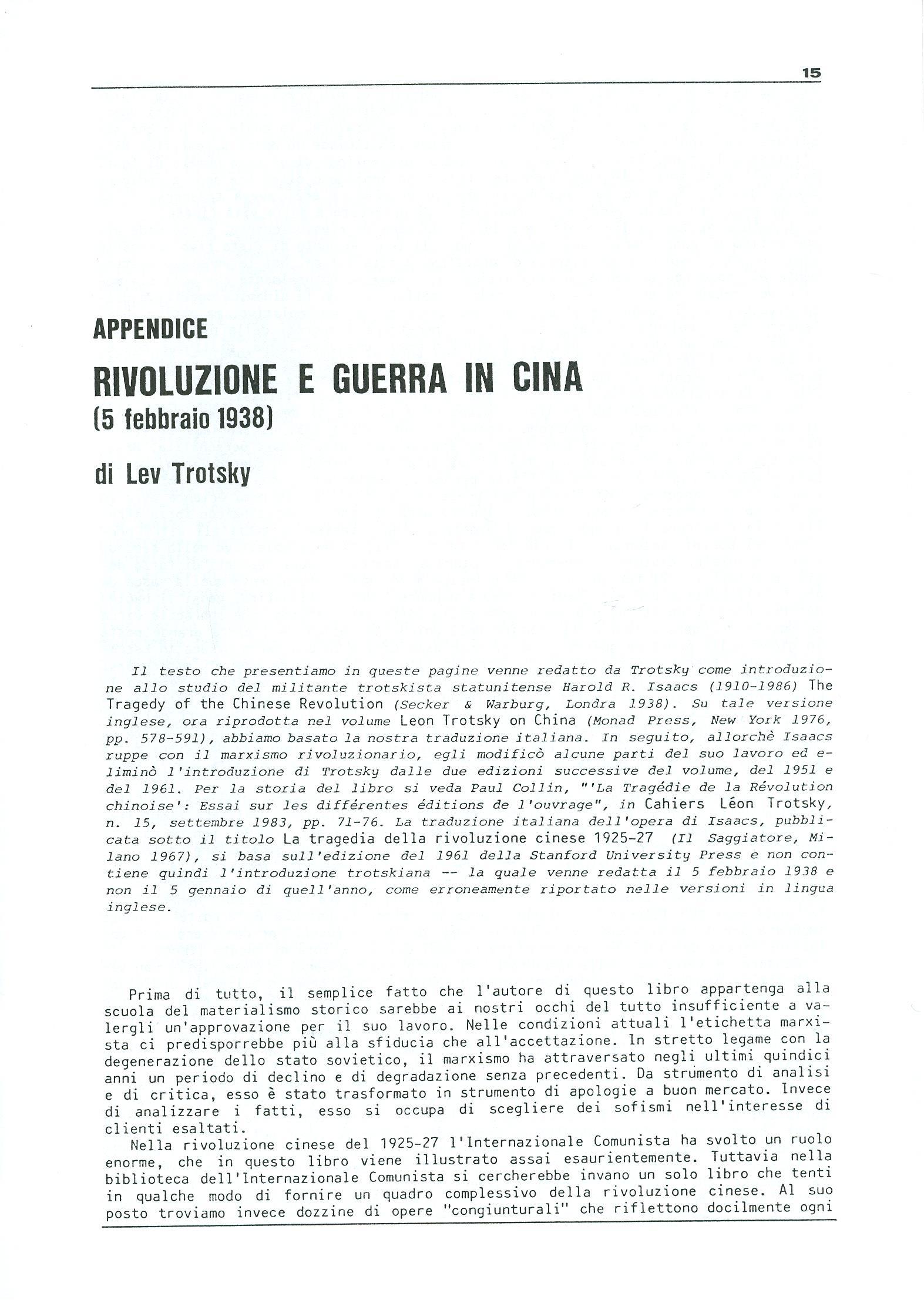 Studi e Ricerche n. 18 (aprile 1990) - pag. 15