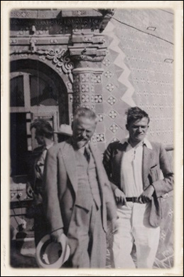 Lev Trotsky e Jean van Heijenoort a Taxco (1938)