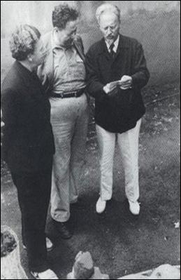 André Breton, Diego Rivera e Lev Trotsky in Messico (febbraio 1938)
