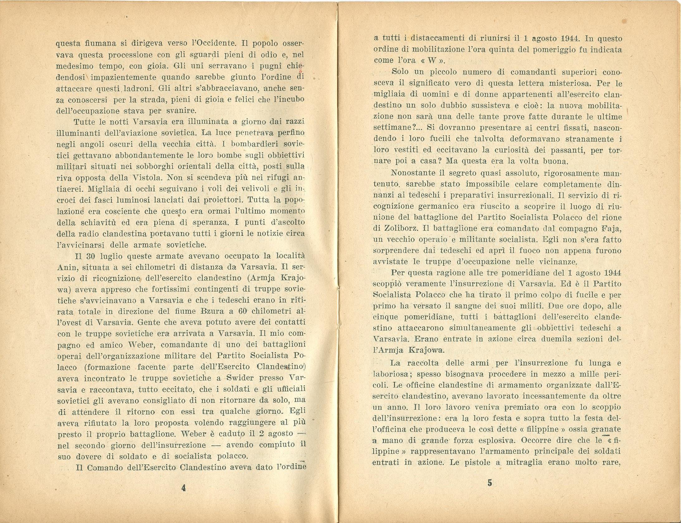 Zygmunt Zaremba, La verità sull'insurrezione di Varsavia nel 1944 (1946) - pag. 4