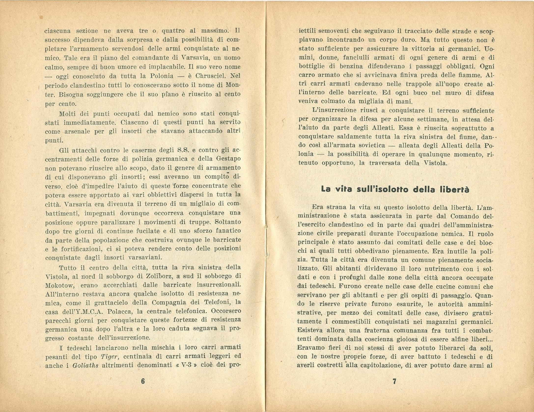 Zygmunt Zaremba, La verità sull'insurrezione di Varsavia nel 1944 (1946) - pag. 5