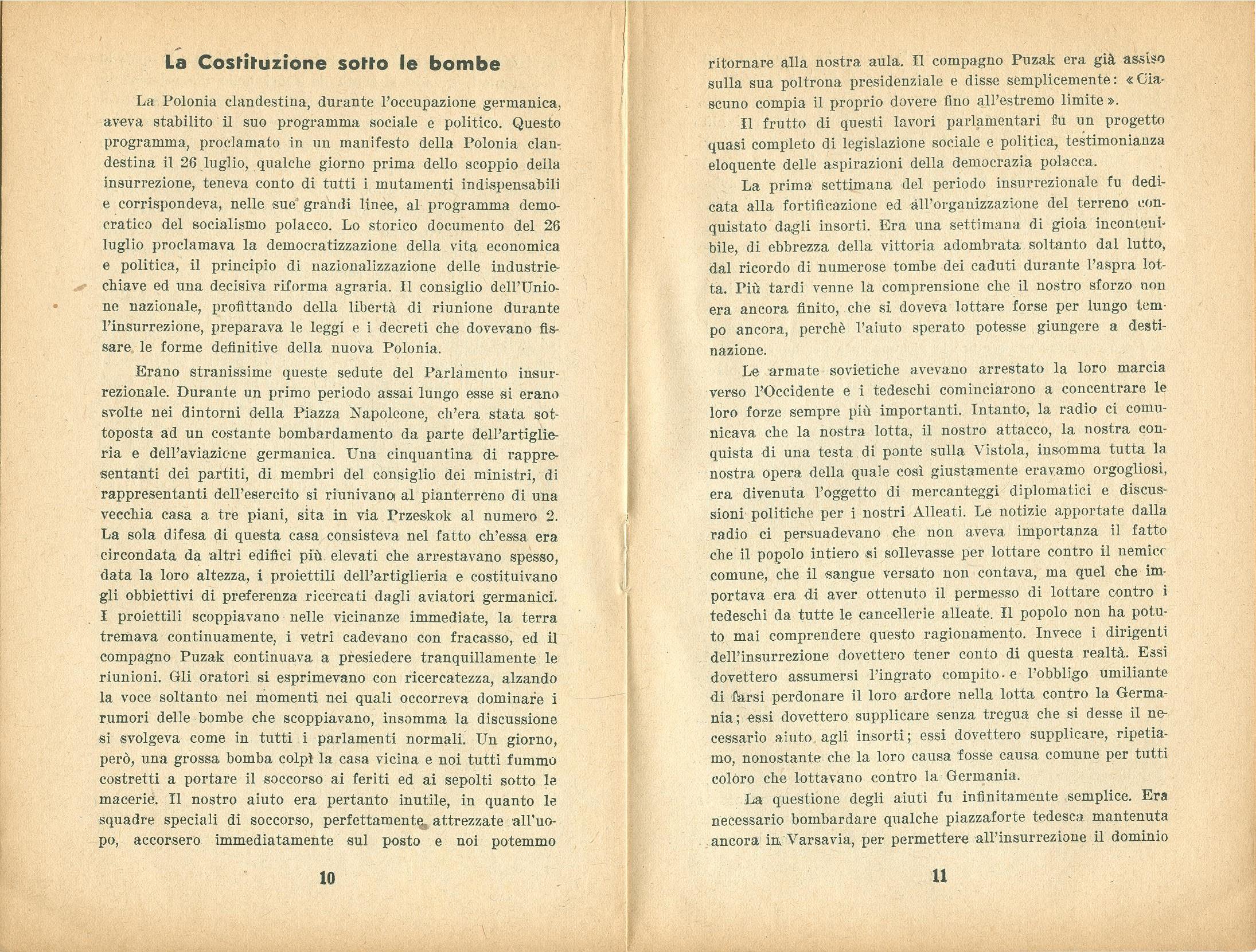 Zygmunt Zaremba, La verità sull'insurrezione di Varsavia nel 1944 (1946) - pag. 7