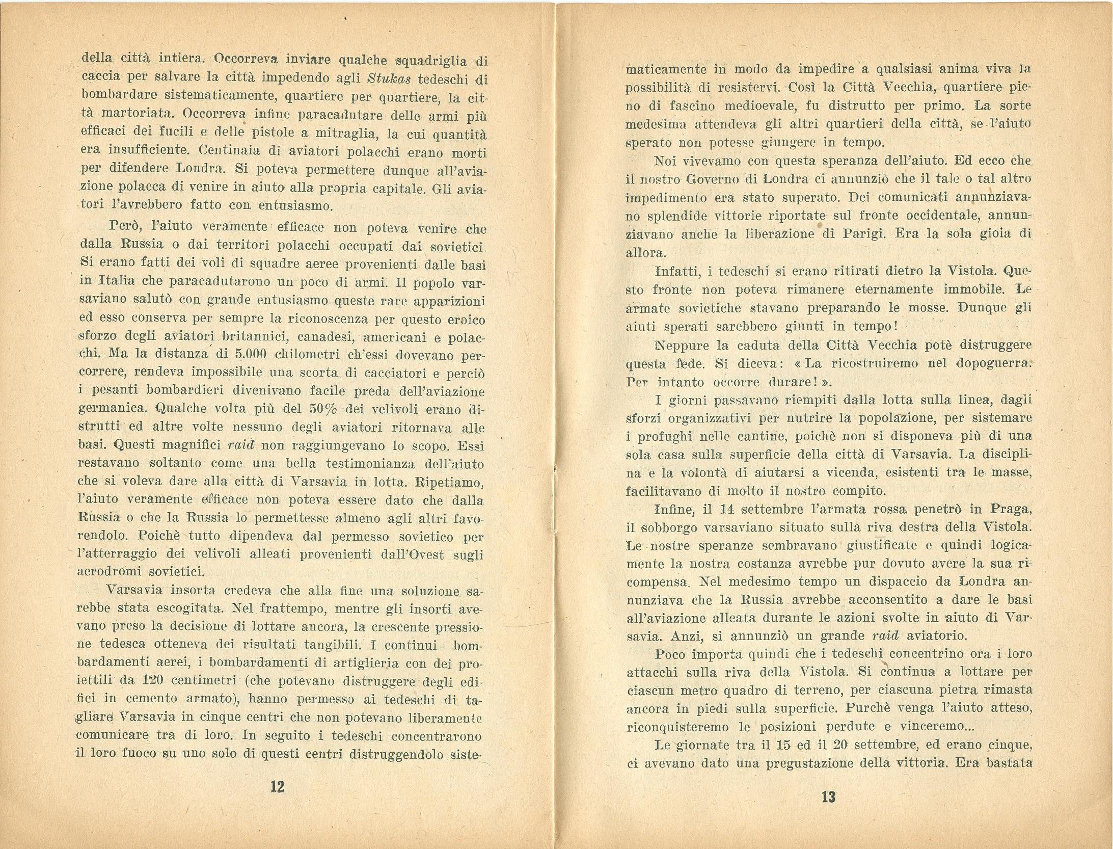 Zygmunt Zaremba, La verità sull'insurrezione di Varsavia nel 1944 (1946) - pag. 8