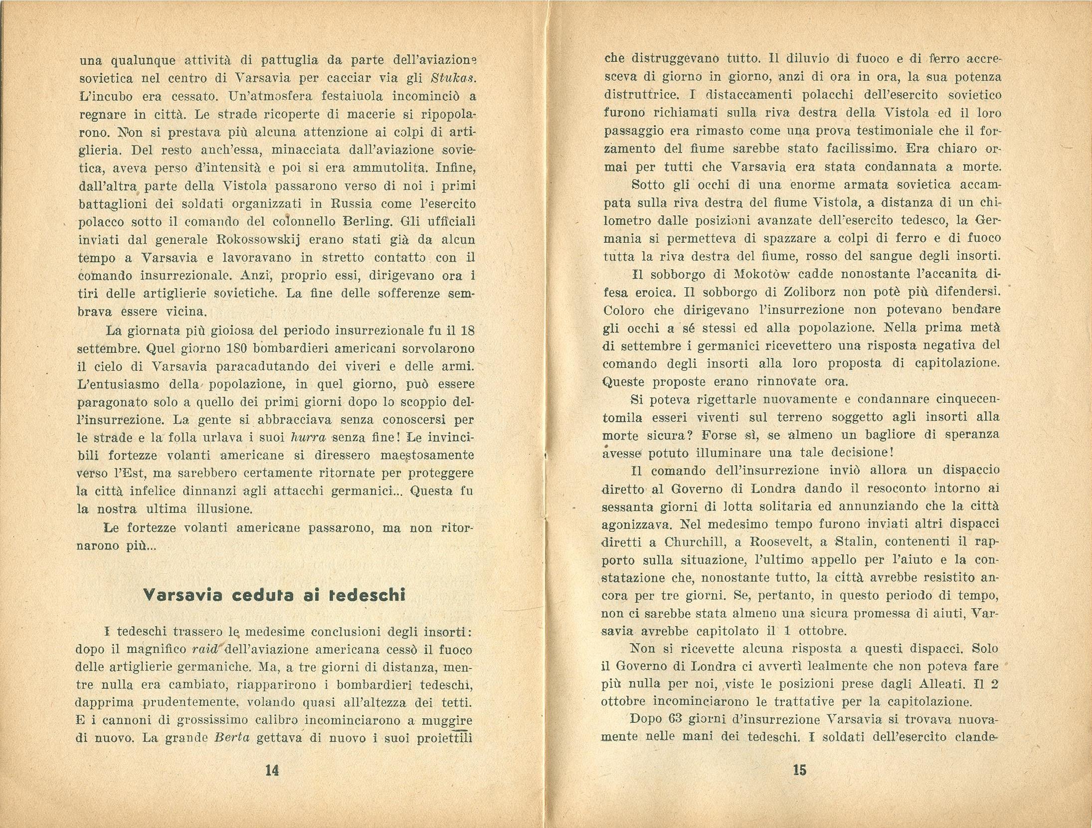 Zygmunt Zaremba, La verità sull'insurrezione di Varsavia nel 1944 (1946) - pag. 9