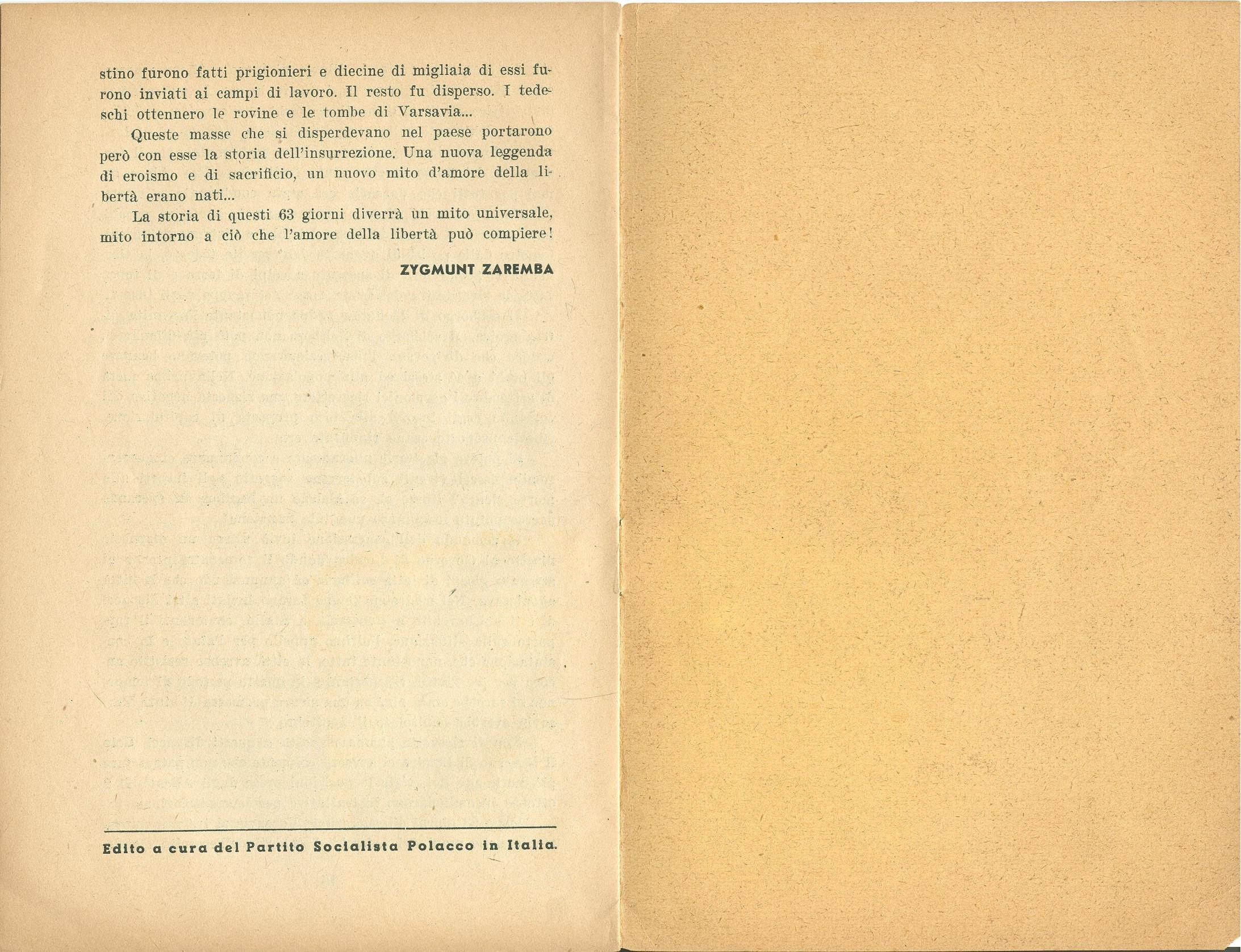 Zygmunt Zaremba, La verità sull'insurrezione di Varsavia nel 1944 (1946) - pag. 10