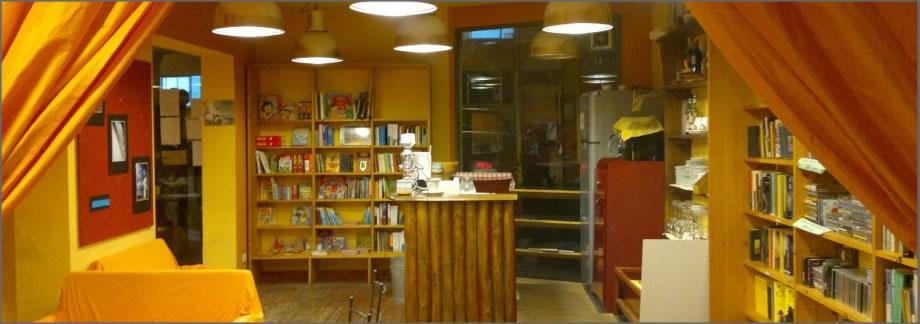Marco Nundini alla libreria caffè letterario Fahrenheit 451 di San Giovanni Valdarno