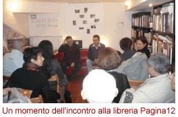 Marco Nundini alla libreria Pagina12 Verona