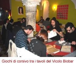 Marco Nundini al Vicolo Biobar di Salò
