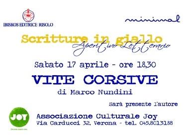 Marco Nundini presenta al Joy di Verona