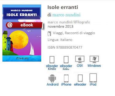 Isole Erranti di Marco Nundini ISBN 9788890870477