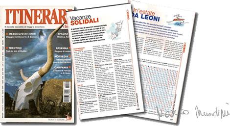 Marco Nundini travel writer Itinerari e luoghi