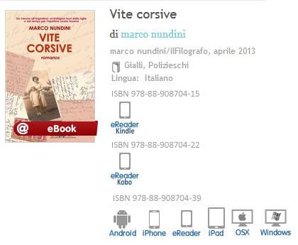 Vite Corsive Marco Nundini ISBN 9788890870439