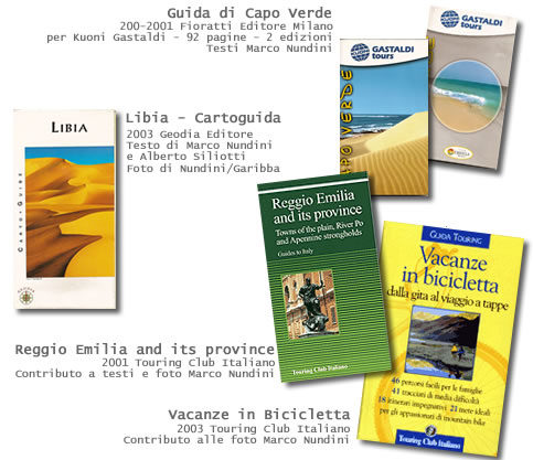 Marco Nundini travel writer guide turistiche
