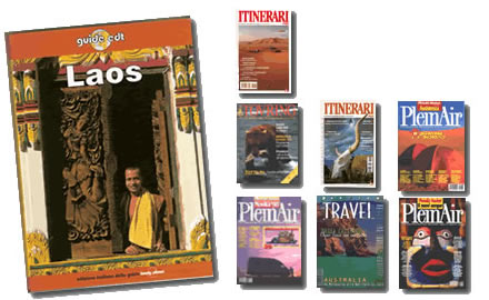 Marco Nundini travel writer copertine