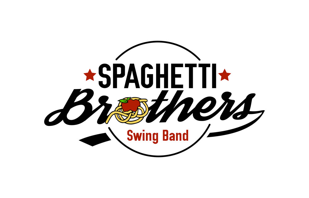 Spaghetti Brother swing band logo