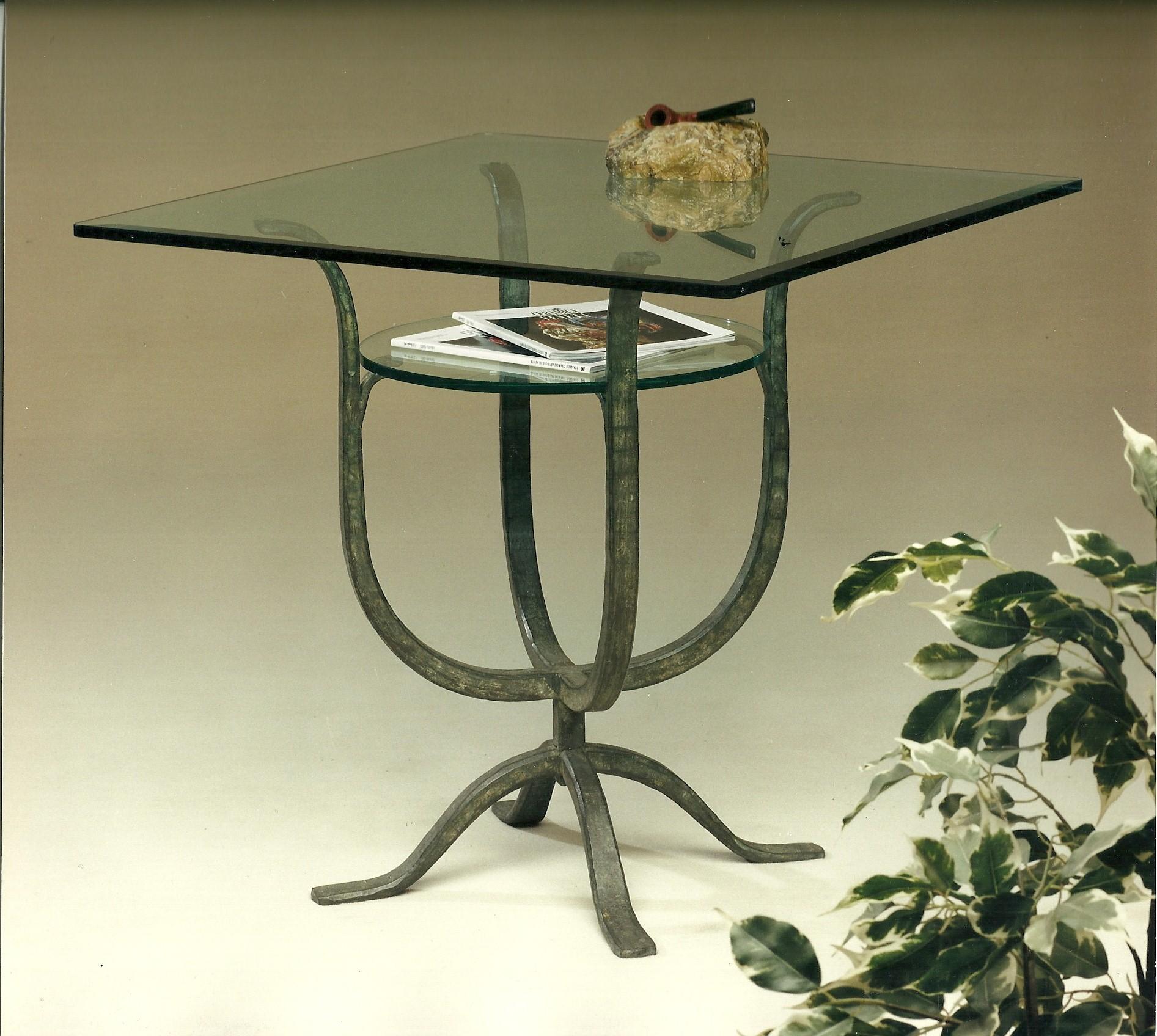 Tavoli in ferro battuto