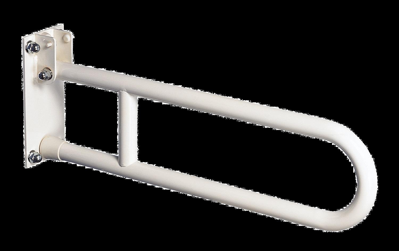 barra di sostegno ribaltabile serie VERNICIATA mm. 600