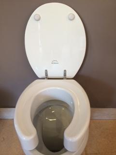 sedile rialzato wc con coperchio