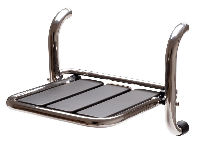 sedile ribaltabile per doccia inox