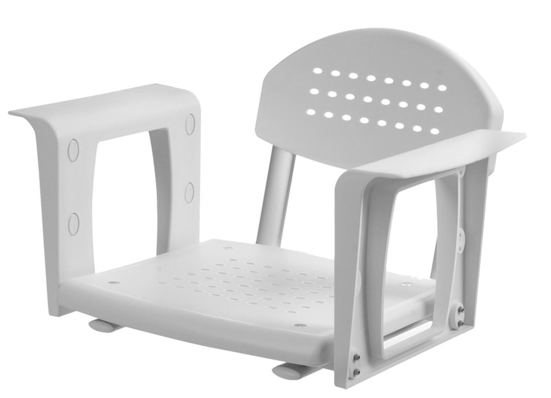 sedile da vasca con schienale