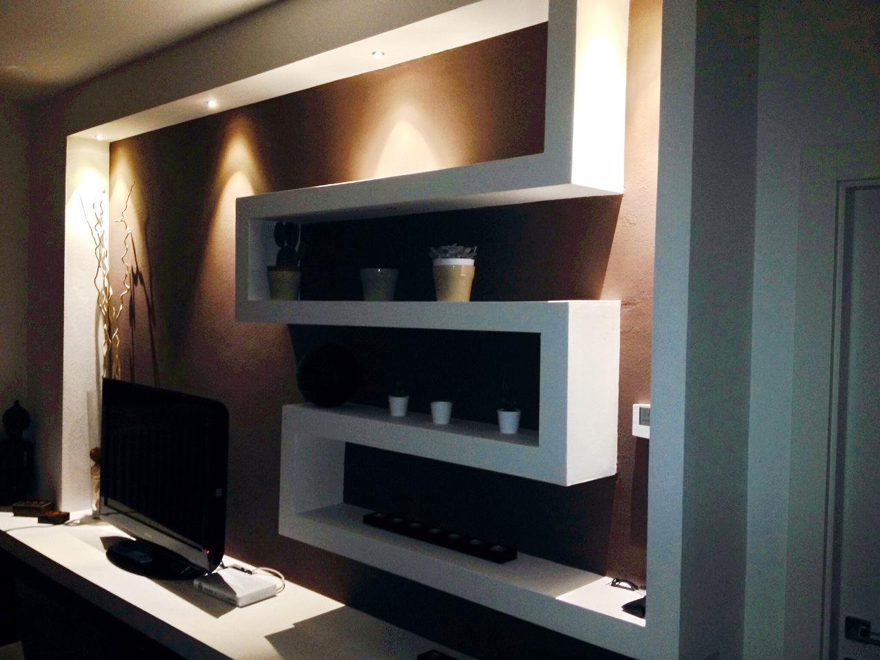 Cucina in muratura cartongesso - Mobili cartongesso soggiorno ...