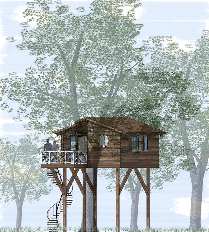 Casa sull albero progetto - Come costruire una casa sull albero ...