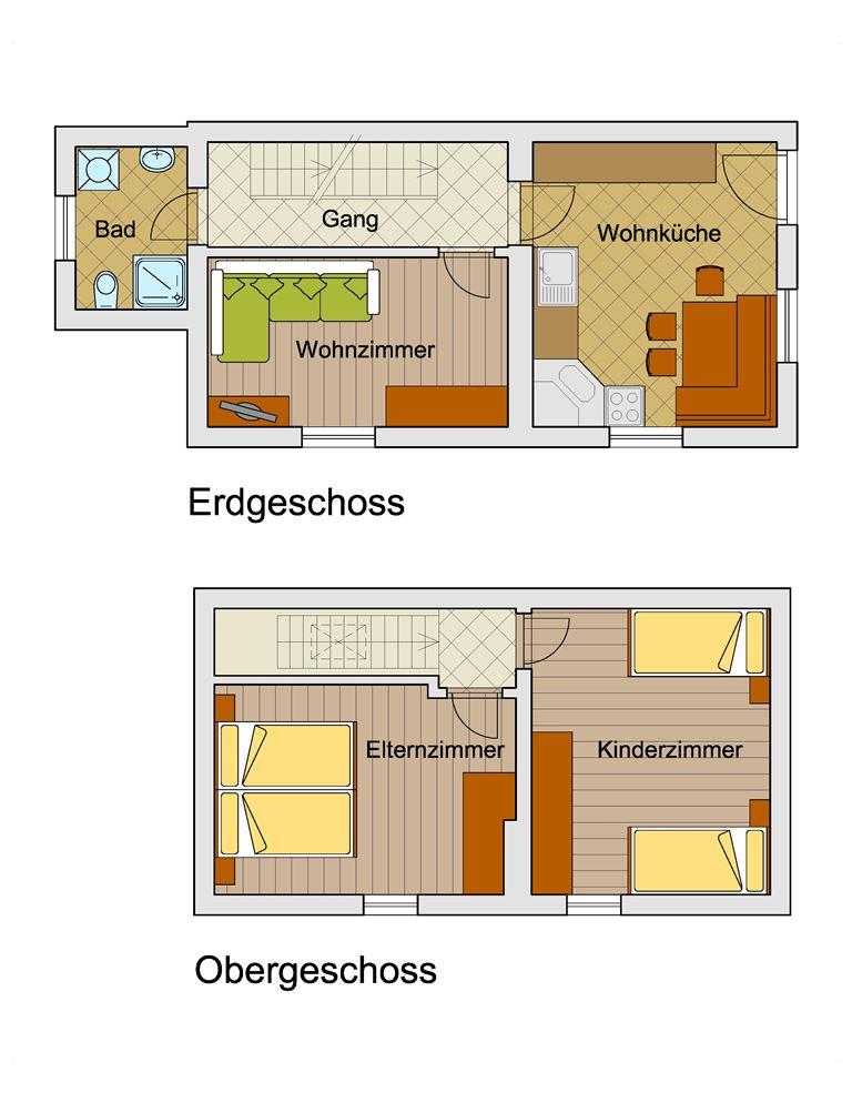 Einrichtungsplan  das ferienhaus