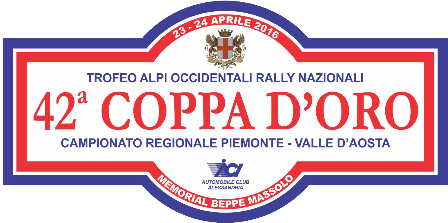 Logo - 41° Rally Coppa d'Oro