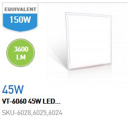 PANNELLO LED 45W 600X600 LUCE NATURALE