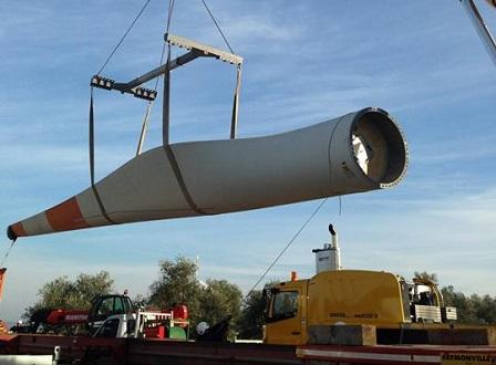 Impianto eolico Euro Energia srl