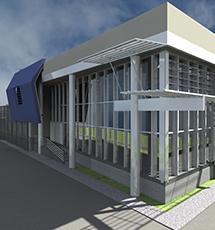 Edificio produttivo e espositivo nuova esecuzione