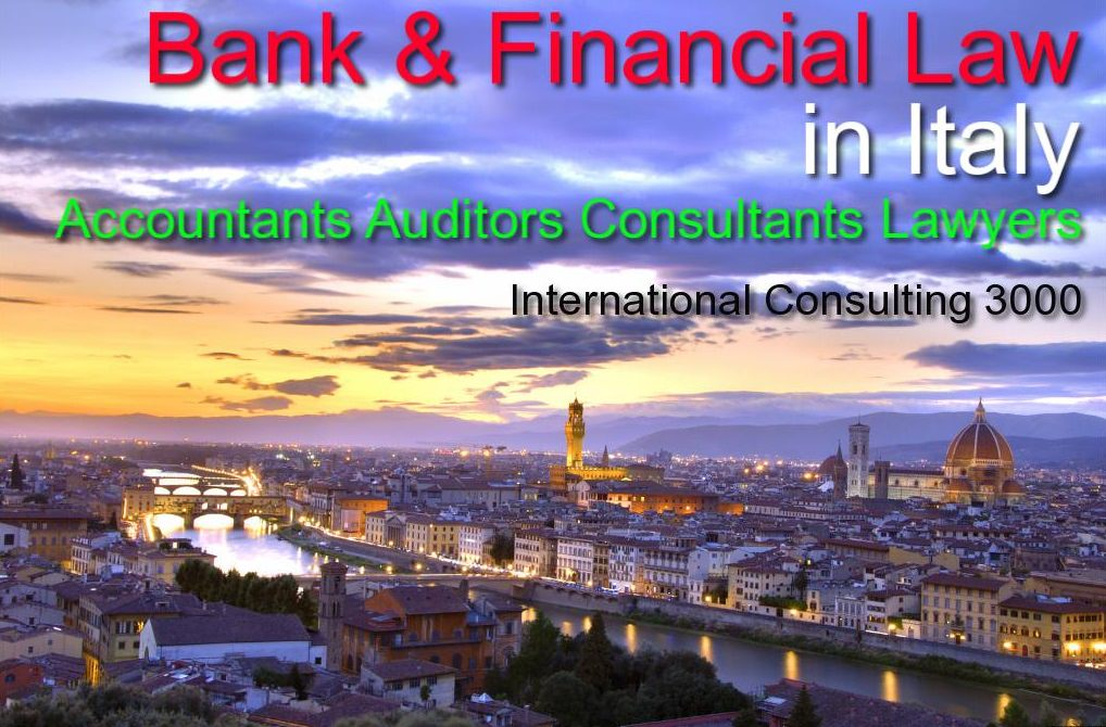 BANK AGREEMENTS IN ITALY CONSULTING