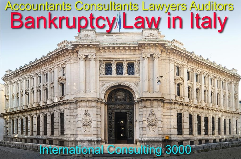 BANKRUPTCY PROCEDURE RULES IN ITALY