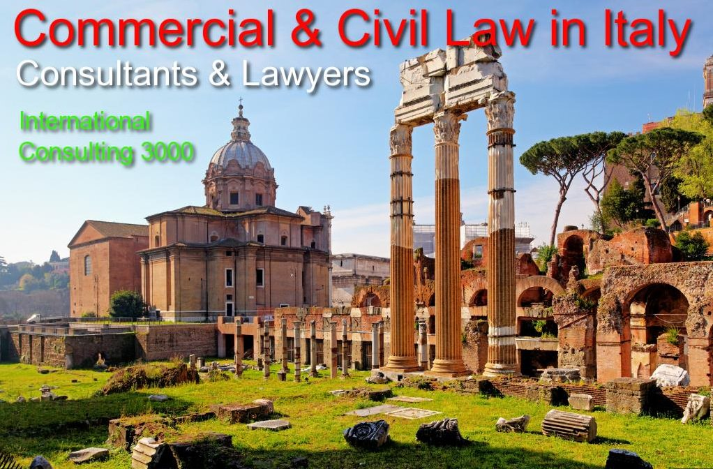 COMMERCIAL CIVIL LAW IN ITALY LAWYERS