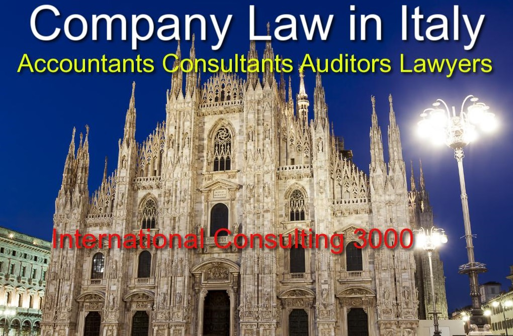 COMPANY INCORPORATION IN ITALY