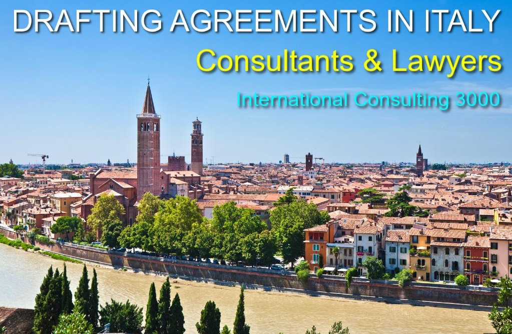 LAWYERS COMMERCIAL CORPORATE AGREEMENTS IN ITALY