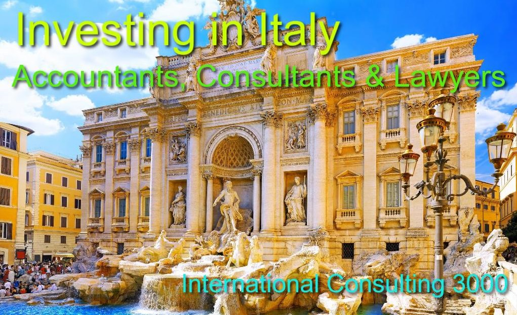CONSULTATNS FOR INVESTMENTS IN ITALY