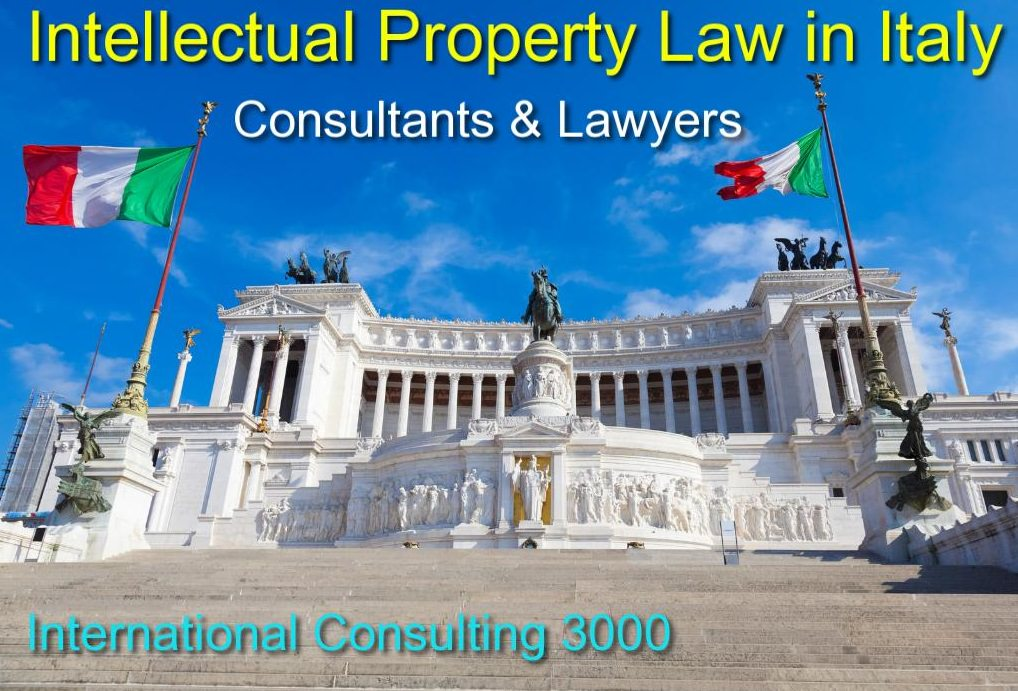PATENT TRADEMARK REGISTRATION IN ITALY