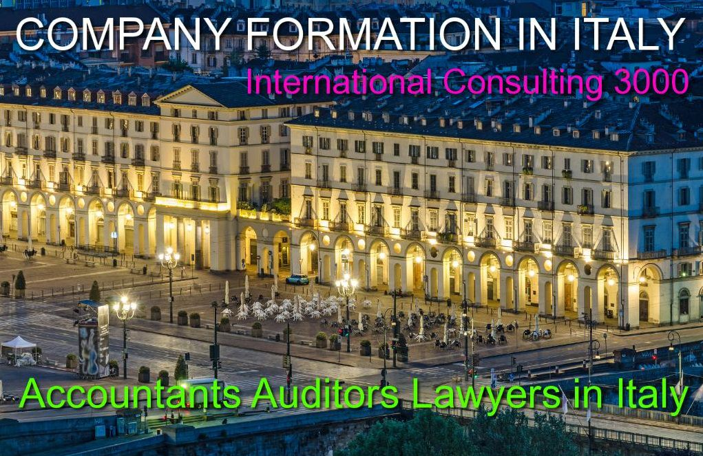COMPANY ACCOUNTANTS AUDITORS IN ITALY