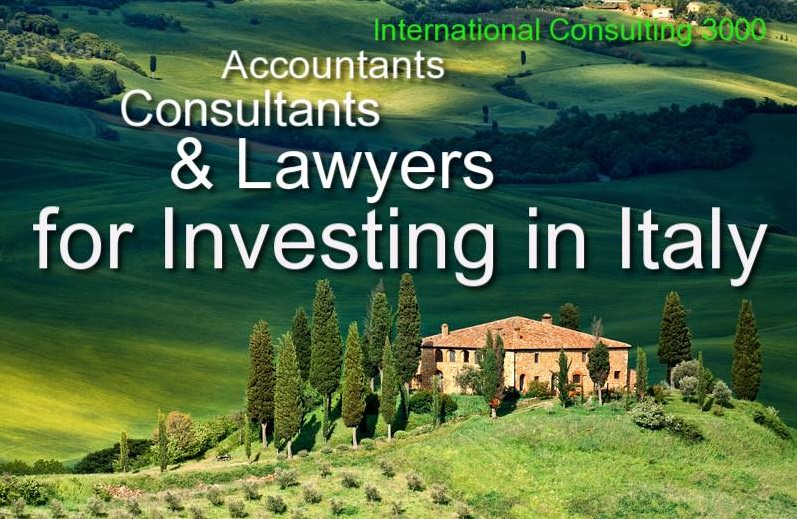 INVESTING IN ITALY CONSULTANTS