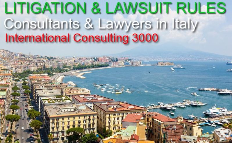 LAWYERS IN ITALY FOR CIVIL COMMERCIAL CLAIMS