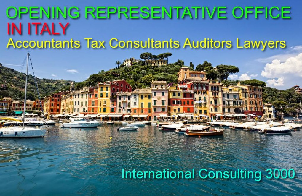 LEGAL REPRESENTATIVE IN ITALY OF RO