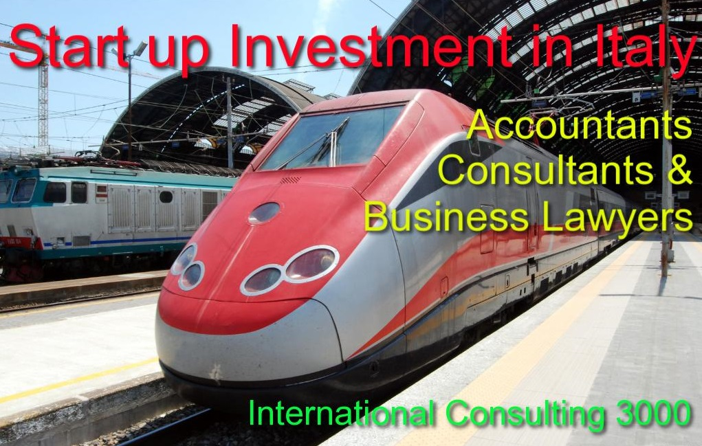 START UP INVESTMENT SERVICES IN ITALY