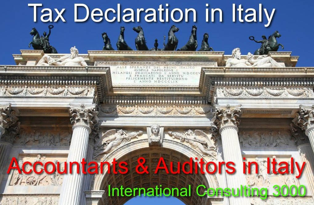 TAX CONSULTANTS IN ITALY