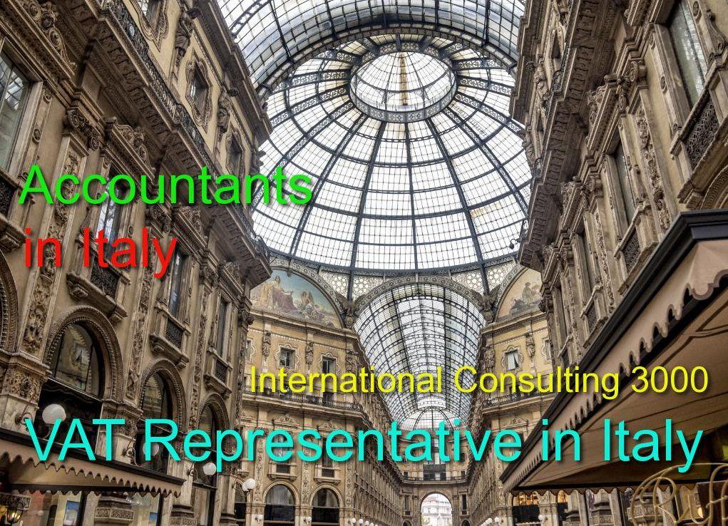 VAT REPRESENTATIVE IN ITALY VAT PAYMENT