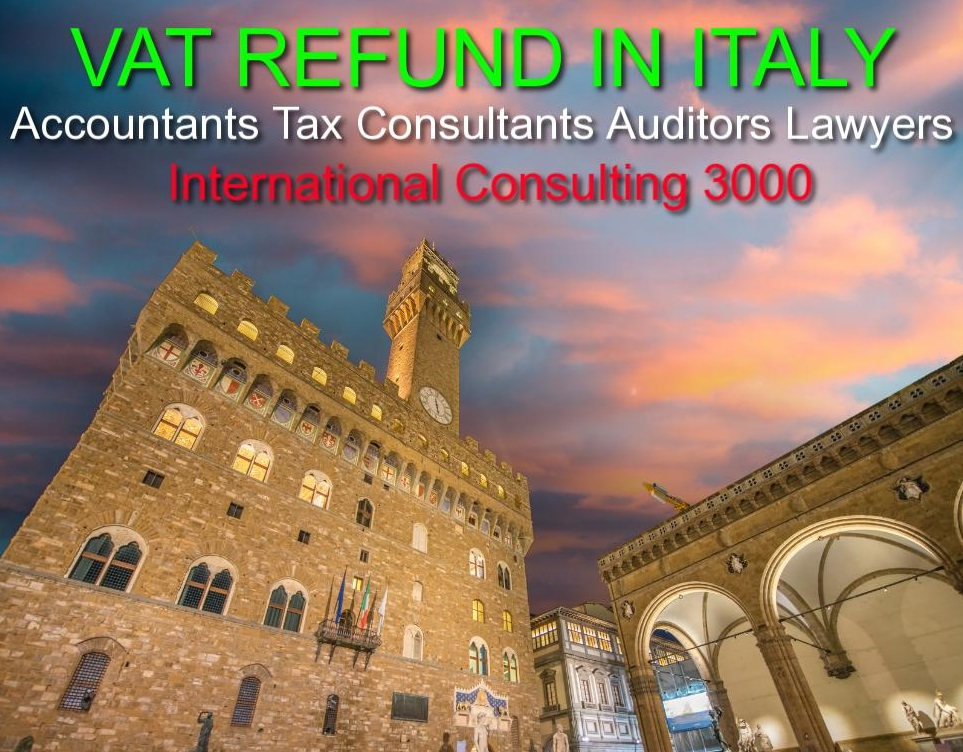 VAT REIMBURSEMENT IN ITALY REFUND ASSISTANCE CONSULTANTS